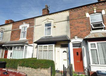Thumbnail 2 bed terraced house for sale in Heeley Road, Selly Oak, Birmingham