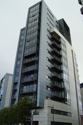 Thumbnail 2 bed flat to rent in Castlebank Drive, Glasgow Harbour, Glasgow G11,