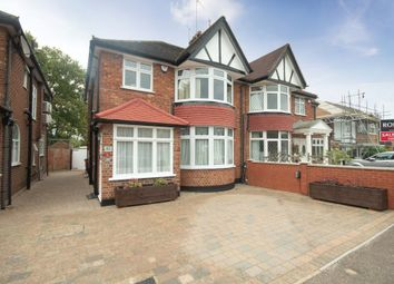 Thumbnail 3 bed semi-detached house for sale in George V Avenue, Pinner, Middlesex