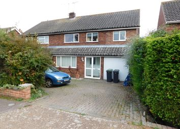 Thumbnail 4 bed semi-detached house for sale in Gainsborough Road, Stowmarket