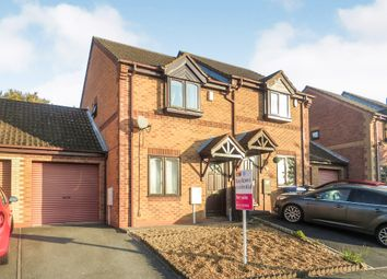 Thumbnail 2 bed semi-detached house for sale in Smalley Drive, Oakwood, Derby