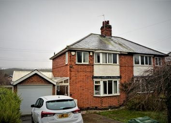Thumbnail 2 bed semi-detached house for sale in Cropston Road, Anstey, Leicester