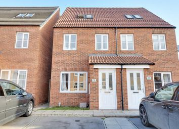 Thumbnail 3 bed semi-detached house for sale in Whimbrel Chase, Scunthorpe