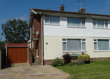 Thumbnail 3 bed semi-detached house for sale in Gybbon Rise, Staplehurst, Tonbridge
