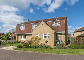 Thumbnail 4 bed detached house for sale in Haycraft Close, Grafham, Huntingdon