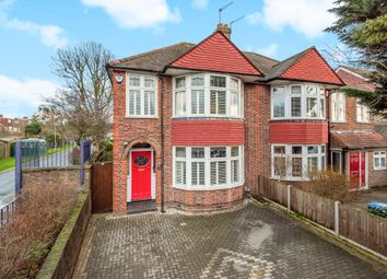 Thumbnail 3 bed semi-detached house for sale in Middle Park Avenue, London