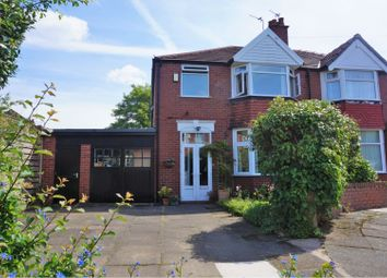 Thumbnail 3 bedroom semi-detached house for sale in Macauley Road, Manchester
