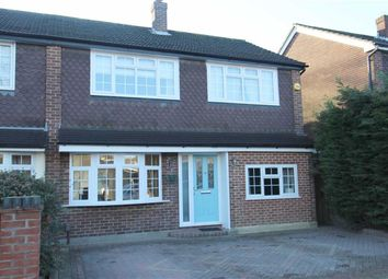 Thumbnail 3 bed semi-detached house for sale in Woodedge Close, North Chingford, London