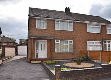Thumbnail 3 bed semi-detached house for sale in Brindon Close, Weston Coyney, Stoke-On-Trent