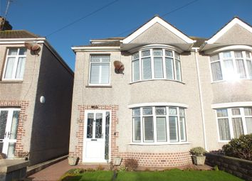 Thumbnail 4 bedroom semi-detached house for sale in Eastleigh Drive, Milford Haven, Pembrokeshire
