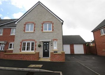 Thumbnail 4 bedroom end terrace house for sale in Carver Close, Stratton, Wiltshire