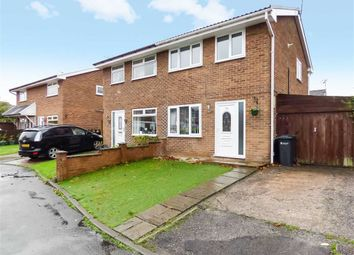Thumbnail 3 bed semi-detached house for sale in Plantagenet Close, Winsford, Cheshire