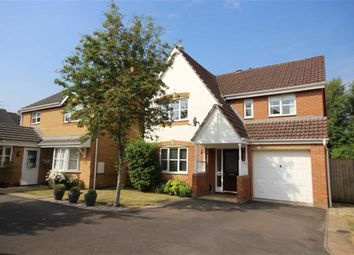 Thumbnail 4 bed detached house for sale in The Willows, Swindon, Wiltshire
