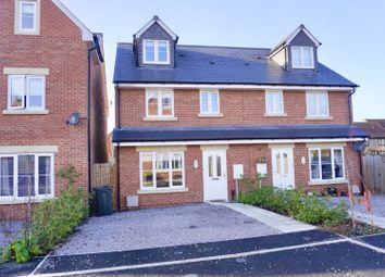Thumbnail 4 bed semi-detached house for sale in Yew Tree Close, Quedgeley, Gloucester