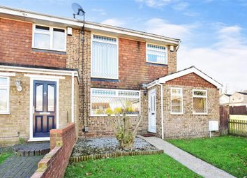 Thumbnail 3 bed end terrace house for sale in Opal Green, Lords Wood, Chatham, Kent