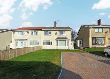 Thumbnail 3 bed semi-detached house for sale in Bailey Rise, Peterlee