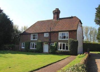 Thumbnail 5 bed detached house for sale in Cranbrook Road, Frittenden, Kent