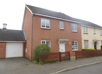 Thumbnail 4 bed semi-detached house for sale in Mallow Road, Thetford