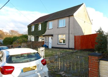 Thumbnail 3 bed semi-detached house for sale in Heol Y Castell, Pant, Merthyr Tydfil