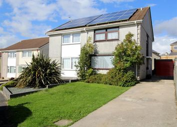 Thumbnail 3 bedroom semi-detached house for sale in Trent Close, Plymouth, Devon