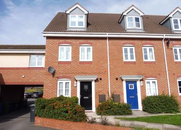 Thumbnail 4 bed town house for sale in Lychgate Close, Glascote, Tamworth