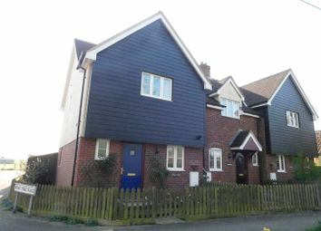 Thumbnail 3 bed end terrace house for sale in High Road, Great Finborough, Stowmarket
