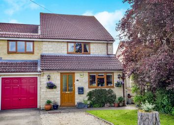 Thumbnail 3 bed semi-detached house for sale in Swinbrook Road, Carterton