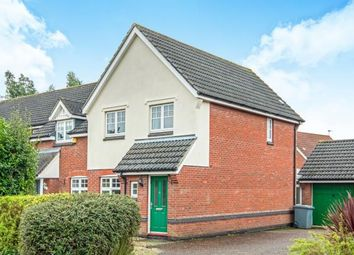 Thumbnail 3 bed end terrace house for sale in Rackheath, Norwich, Norfolk