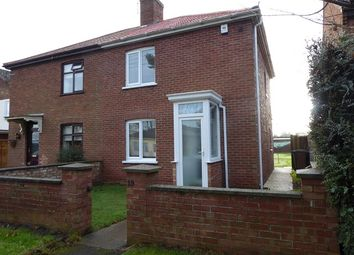 Thumbnail 2 bedroom semi-detached house for sale in Victory Road, Leiston, Suffolk