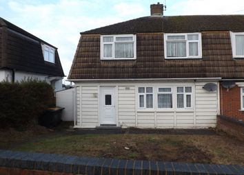 Thumbnail 3 bed semi-detached house to rent in Aldbanks, Dunstable