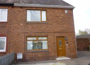 Thumbnail 2 bedroom semi-detached house to rent in Deneside, Seghill, Cramlington