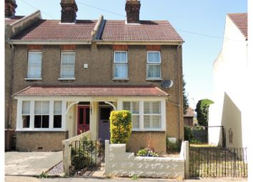 Thumbnail 2 bed semi-detached house for sale in Hill Road, Rochester