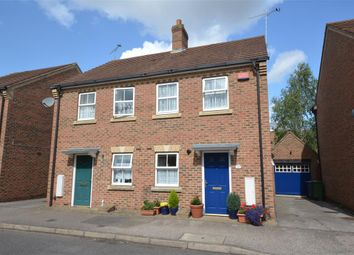 Thumbnail 2 bed semi-detached house for sale in Great Meadow Way, Aylesbury