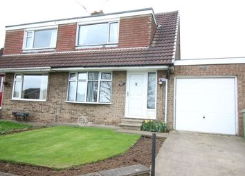 Thumbnail 3 bedroom semi-detached bungalow for sale in Southfield Lane, Whitwell, Worksop