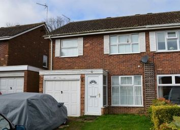 Thumbnail 3 bed semi-detached house to rent in Broadlands, Brixworth, Northampton