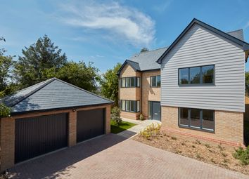 Thumbnail 5 bed detached house for sale in Royston Road, Whittlesford, Cambridge