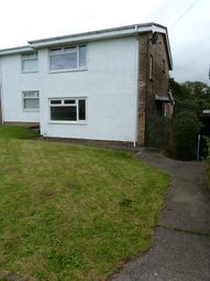 Thumbnail 3 bed semi-detached house for sale in Clos Rhandir, Swansea, Wales