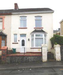 Thumbnail 3 bed end terrace house to rent in Aubrey Road, Penygraig, Rhondda