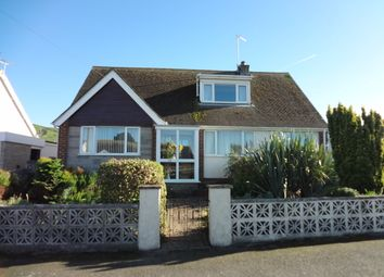 Thumbnail 4 bed detached bungalow for sale in Ffordd Dyfrig, Tywyn