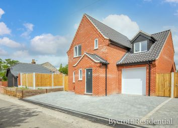 Thumbnail 3 bed detached house for sale in Main Road, Ormesby St Michael, Great Yarmouth
