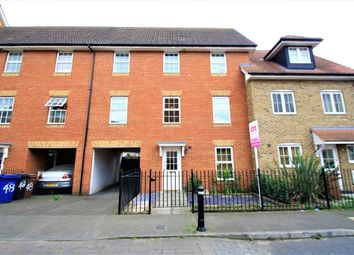 Thumbnail 4 bed town house for sale in Caspian Close, Purfleet
