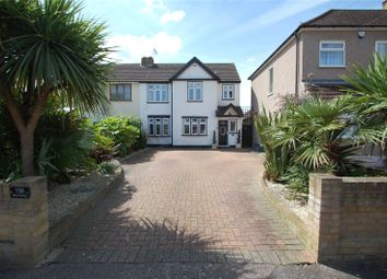 Thumbnail 4 bed semi-detached house for sale in Burnway, Hornchurch, Essex