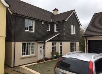 Thumbnail 4 bed detached house to rent in Beech Drive, Bodmin