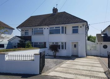 Thumbnail 3 bed semi-detached house for sale in Cwm Barry Way, Barry
