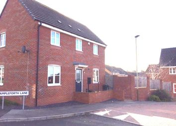Thumbnail 3 bedroom detached house to rent in Ampleforth Lane, Hamilton, Leicester
