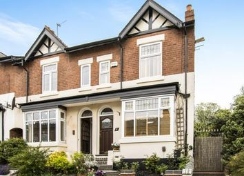 Thumbnail 3 bedroom end terrace house for sale in Rose Road, Harborne, Birmingham, West Midlands