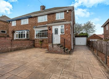 Thumbnail 3 bedroom semi-detached house for sale in Lathkill Close, Richmond, Sheffield