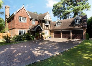 Thumbnail 7 bed detached house for sale in Old Woking Road, Pyrford, Woking, Surrey