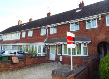 Thumbnail 3 bed terraced house for sale in Mossley Lane, Walsall, West Midlands