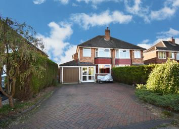 Thumbnail 3 bed semi-detached house for sale in Littlemead Road, Shirley, Solihull